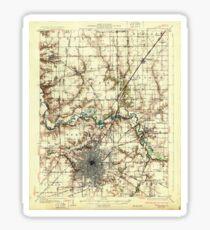 USGS TOPO Map Illinois IL Springfield 309973 1930 62500 Sticker