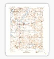 USGS TOPO Map Illinois IL West Frankfort 310064 1941 62500 Sticker