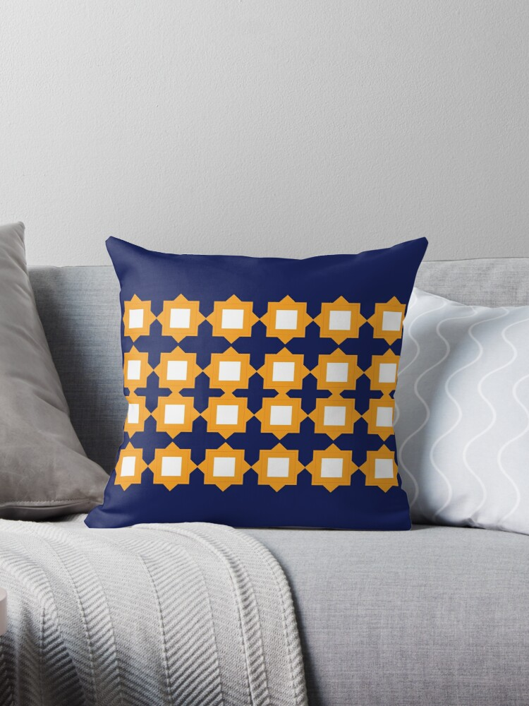 Design elements gold blue by Bee and Glow Illustrations Shop