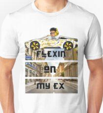 Luxury Hip Hop Design- FLEXIN ON MY EX Unisex T-Shirt