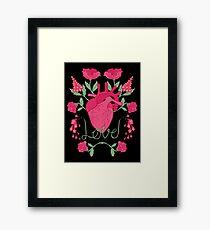Anatomical Love Framed Print