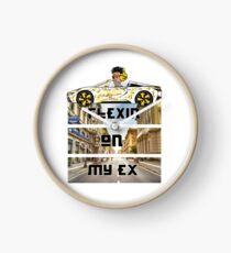 Luxury Hip Hop Design- FLEXIN ON MY EX Clock