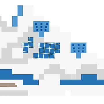 8-bit Jordan 4s - Alternate by soujohn