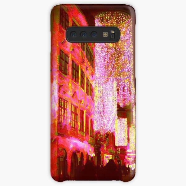 Christmas Lights In Historic Vienna Samsung Galaxy Snap Case