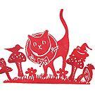 Christmas Cat by craftyhag