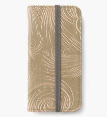 Silvery curves iPhone Wallet/Case/Skin