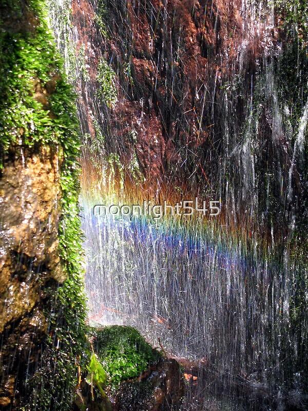 Secret Waterfall by moonlight545