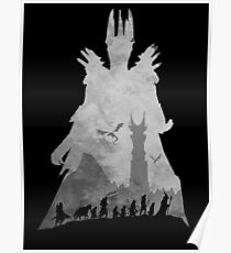 fellowship of the ring posters redbubble