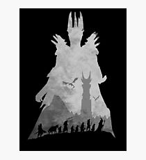 Sauron & The Fellowship Photographic Print