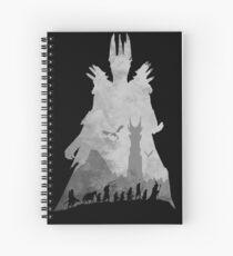 Sauron & The Fellowship Spiral Notebook
