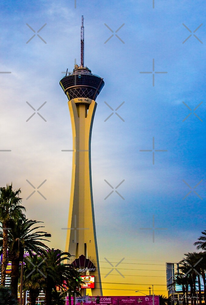 Stratosphere, Las Vegas, Nevada, USA. by VickiWalsh