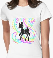 Black Bamby Women's Fitted T-Shirt