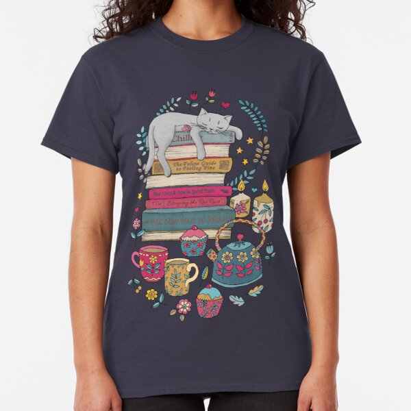 How to Hygge Like a Cat Classic T-Shirt