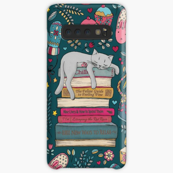How to Hygge Like a Cat Samsung Galaxy Snap Case