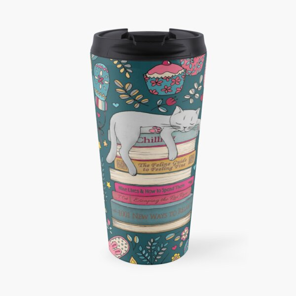 How to Hygge Like a Cat Travel Mug