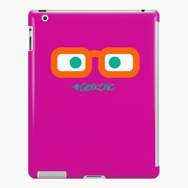 Geek Chic! (Green Eyes) iPad Snap Case