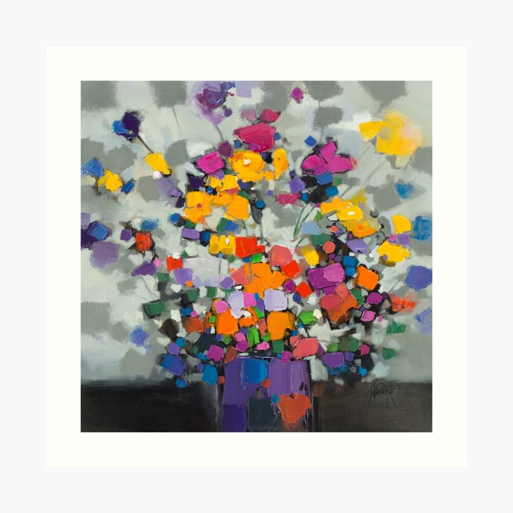 Floral Spectrum 2 Art Print