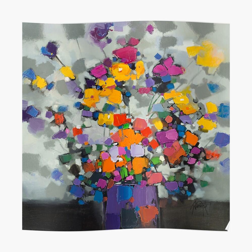 Floral Spectrum 2 Poster