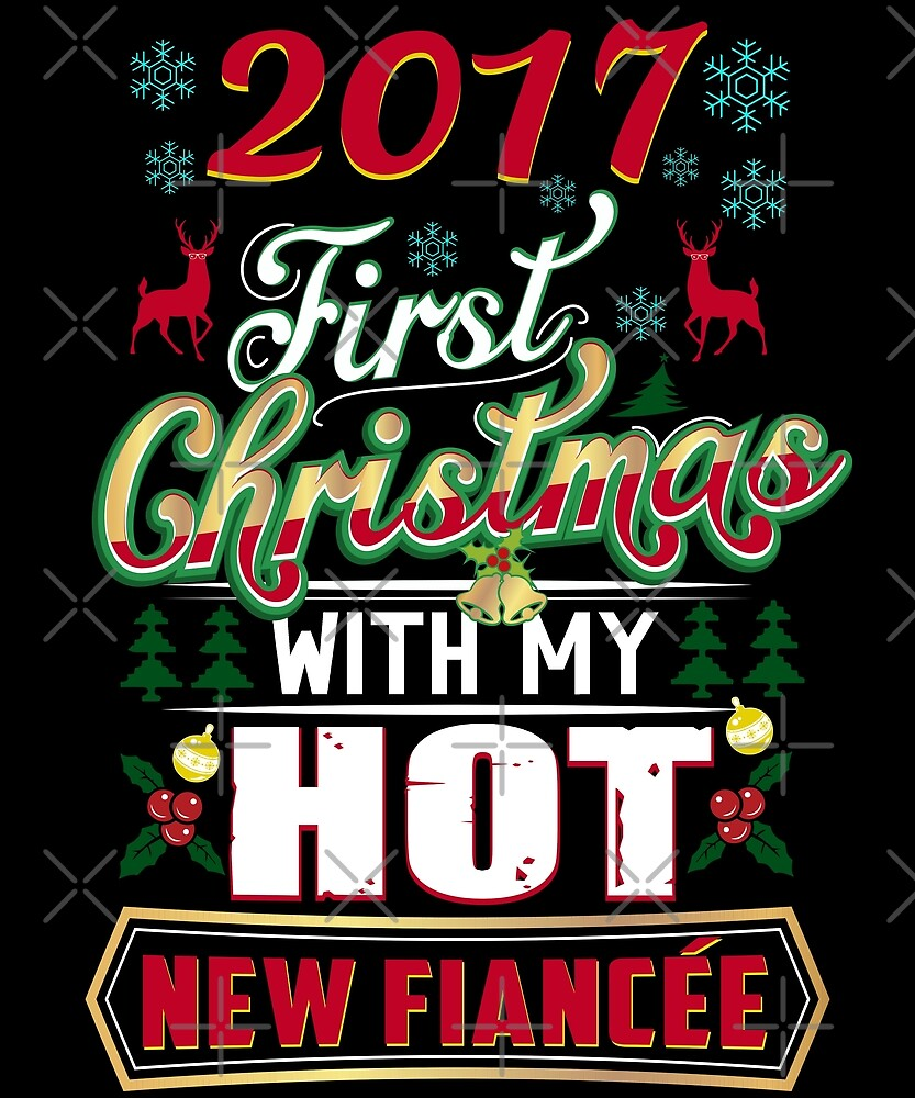 First Christmas With Hot New Fiancee Engaged Couple by JapaneseInkArt