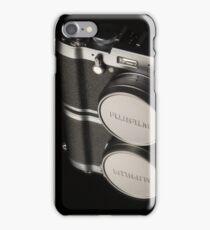 Fujifilm x100t Camera iPhone Case/Skin