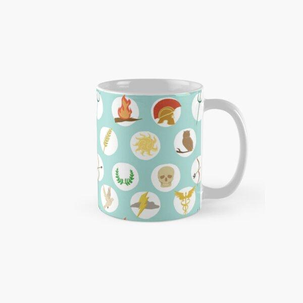 Greek Gods Mythology Repeat Pattern - Percy Jackson Inspired Classic Mug