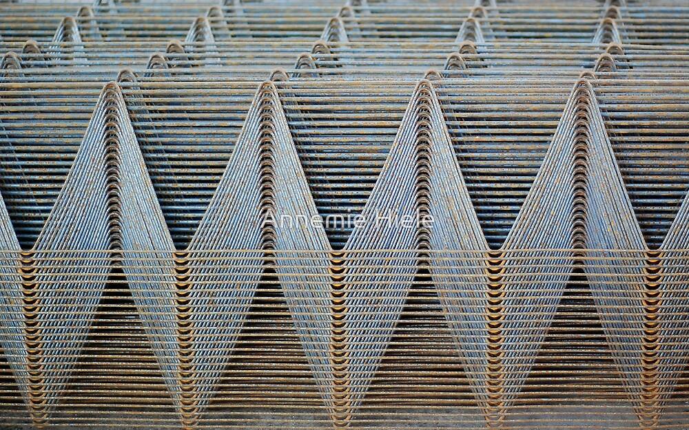 iron waves by Annemie Hiele