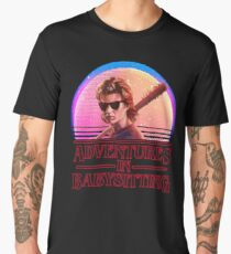 adventures in babysitting - Violet Men's Premium T-Shirt