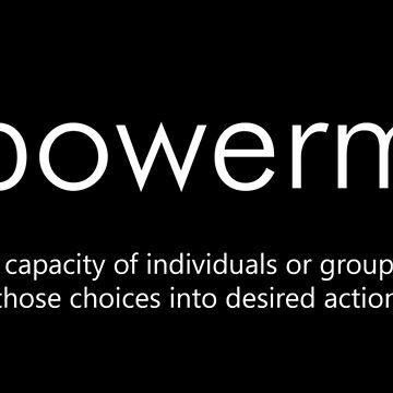 Empowerment (Definition) by designite