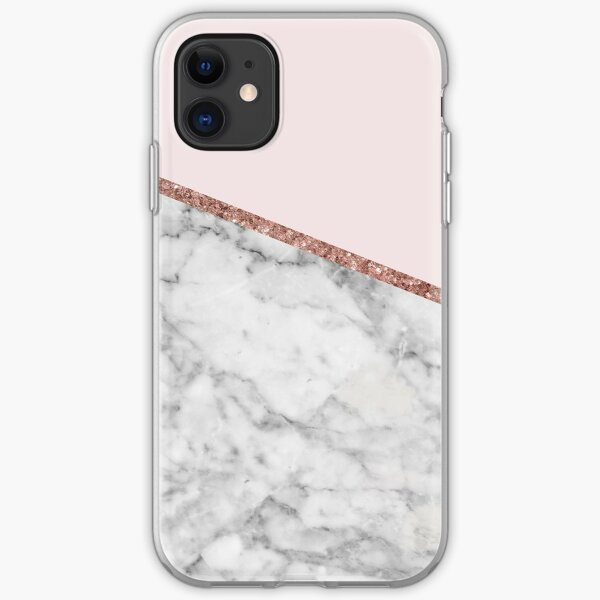 Marble & Glitter iPhone Soft Case