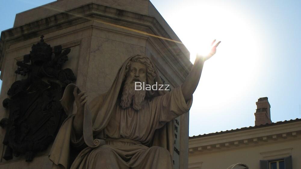 Trinita del Monte, Rome by Bladzz