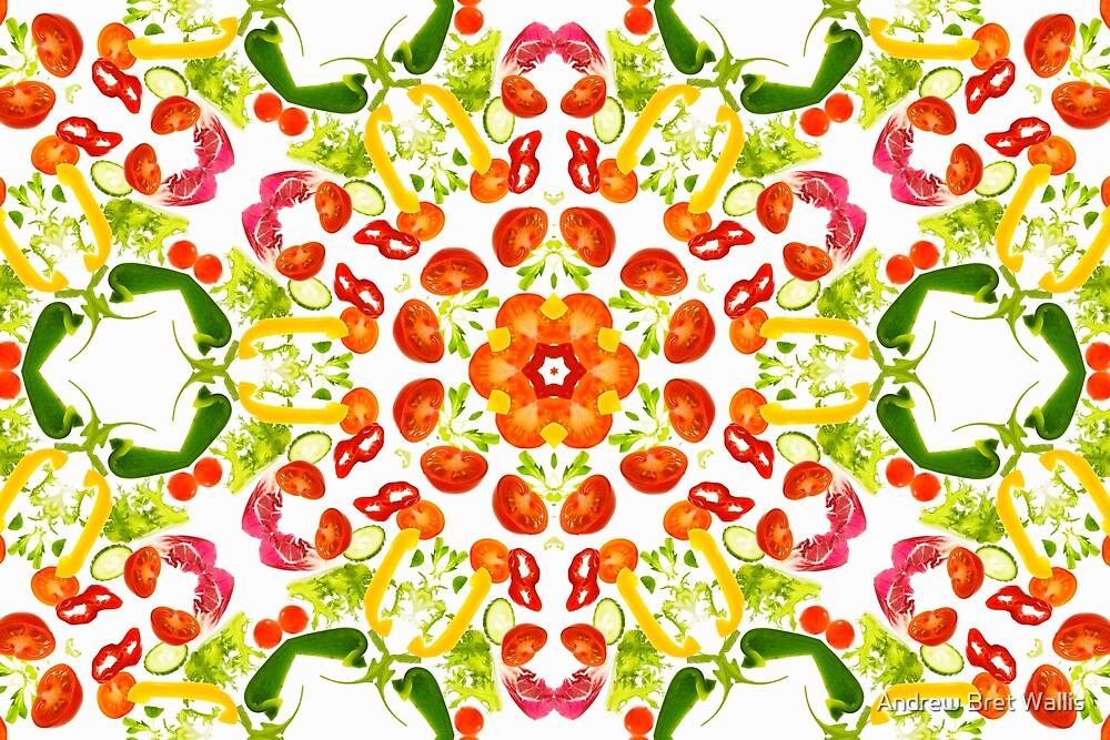 Kaleidoscope Salad by Andrew Bret Wallis