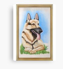 Its Always Sunny - Hitlers Dog Canvas Print