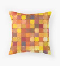 Mosaic 1486 - Tile Texture Throw Pillow