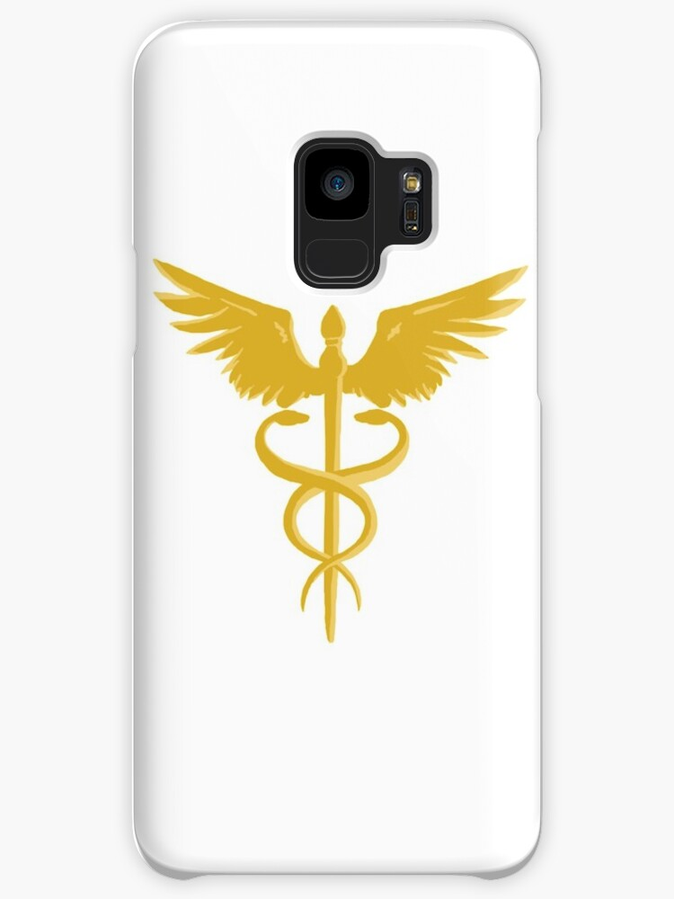 Hermes Staff Logo Greek Gods Percy Jackson Inspired Cases Skins