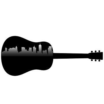 City Guitar by axtellmusic