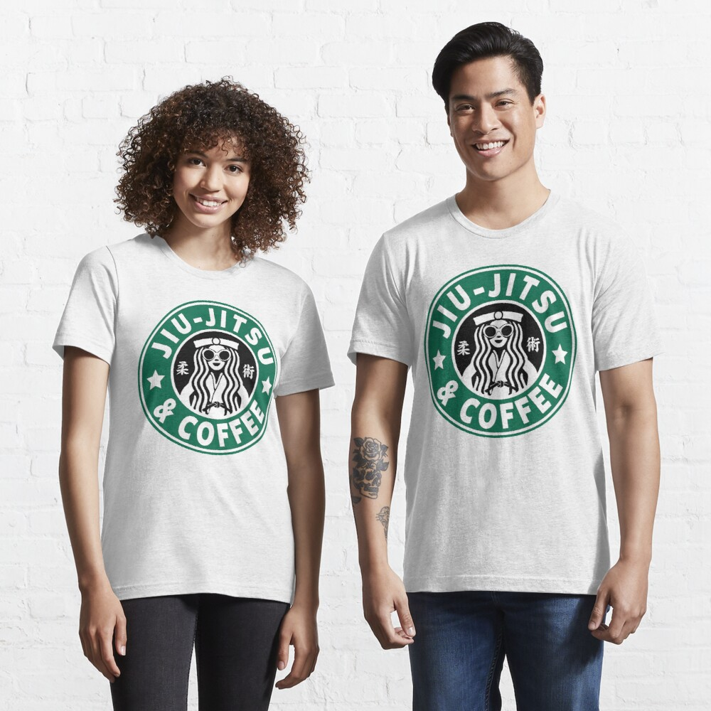JIU JITSU AND COFFEE - FUNNY BRAZILIAN JIU JITSU Essential T-Shirt