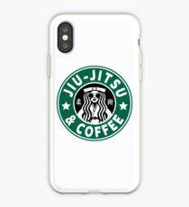 JIU JITSU AND COFFEE - FUNNY BRAZILIAN JIU JITSU iPhone Case