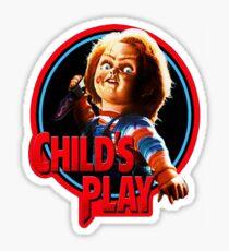Chucky Sticker