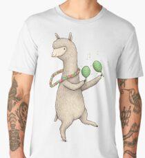 Alpaca on Maracas Men's Premium T-Shirt