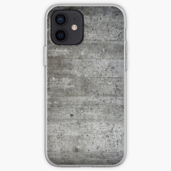 concrete  iPhone Soft Case