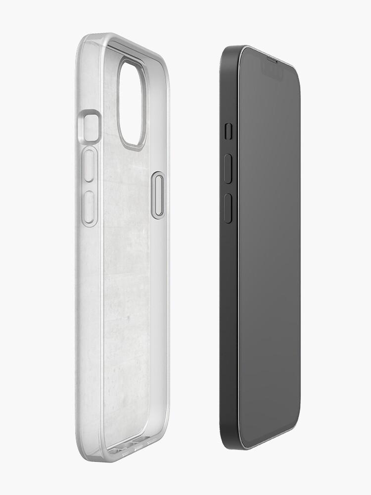 Alternate view of concrete  iPhone Case