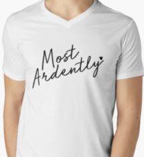 Most Ardently Men's V-Neck T-Shirt