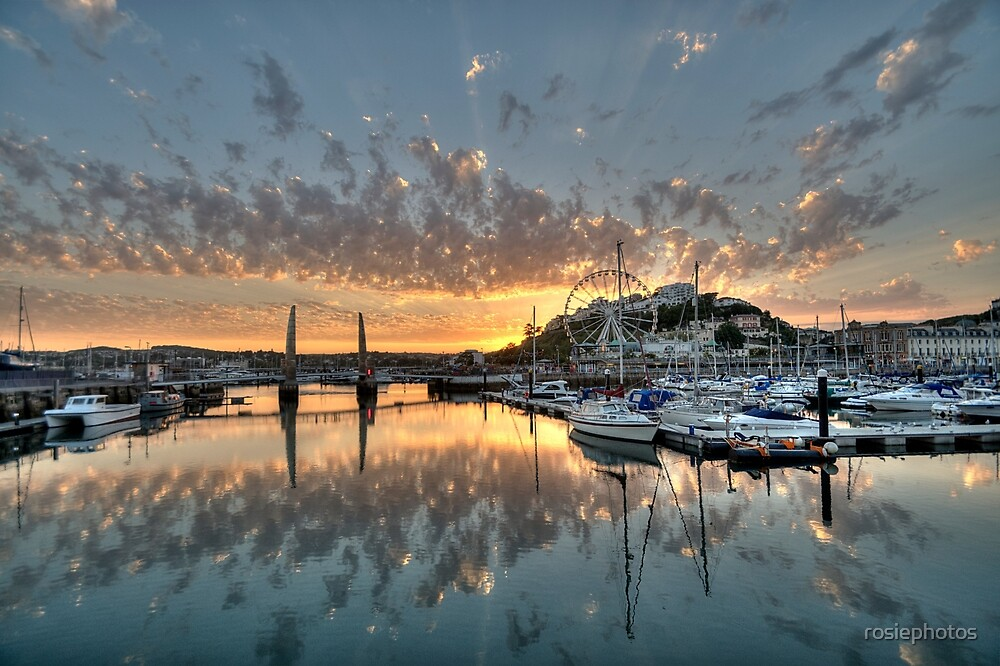 Torquay at Sunset  by rosiephotos