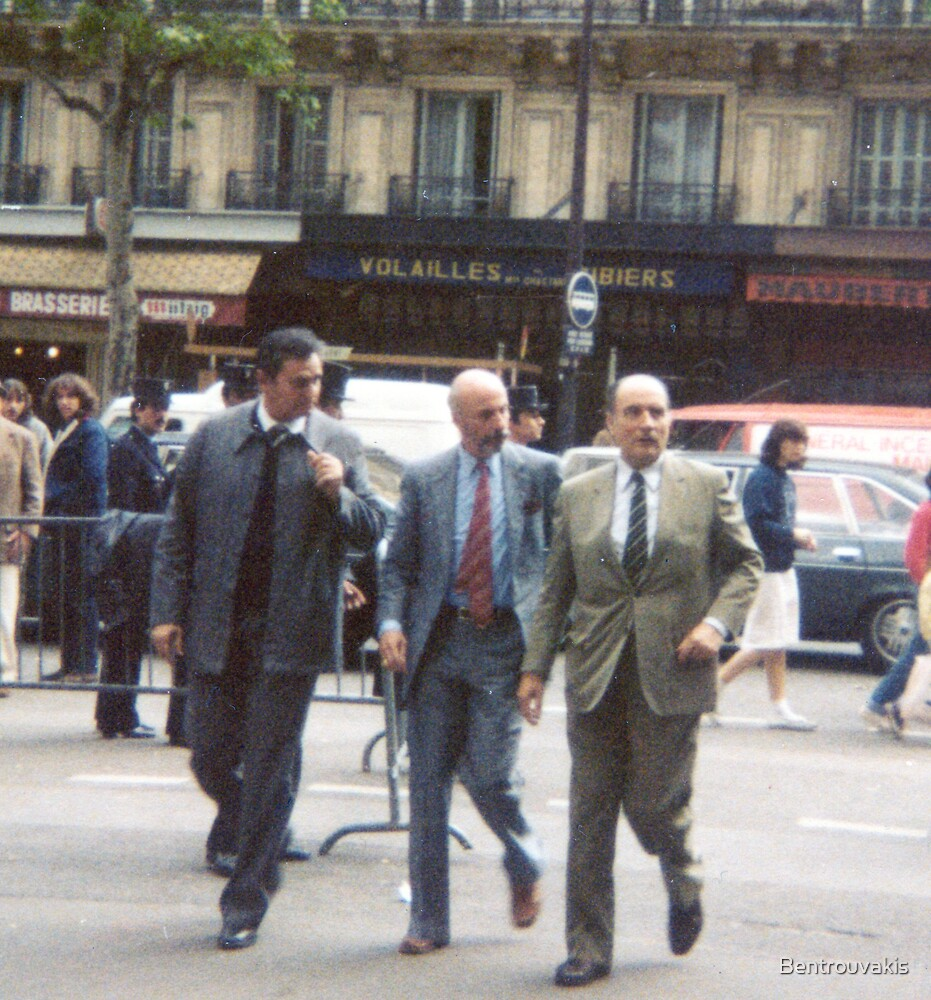François Mitterrand In Paris (May 10, 1981) by Bentrouvakis