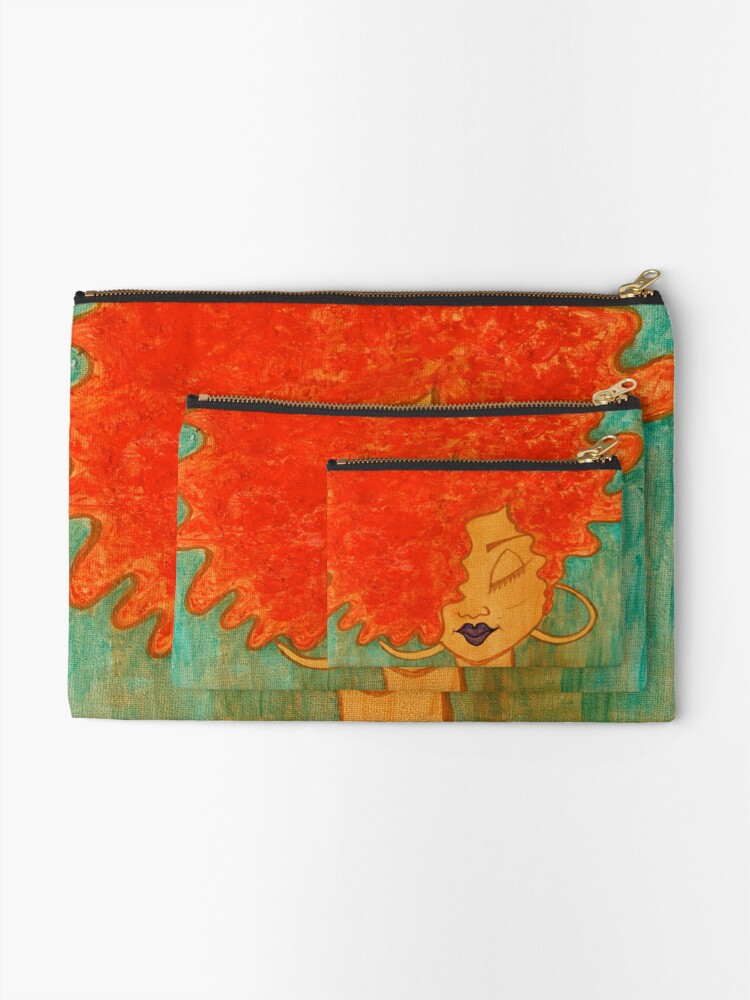Alternate view of Lydia Zipper Pouch
