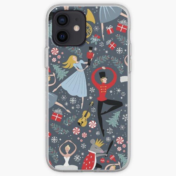 Clara's Nutcracker Ballet repeat by Robin Pickens iPhone Soft Case