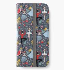 Clara's Nutcracker Ballet repeat by Robin Pickens iPhone Wallet/Case/Skin