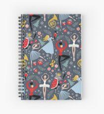 Cuaderno de espiral Clara's Cascanueces Ballet repetir por Robin Pickens