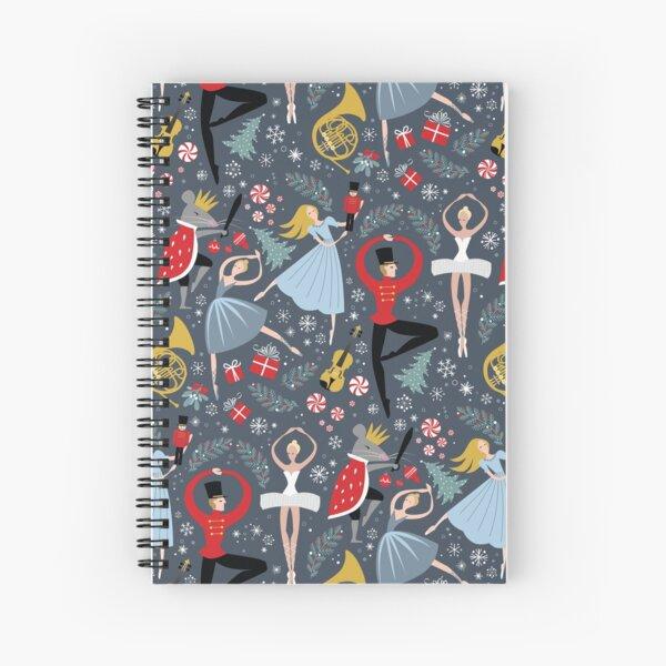 Clara's Nutcracker Ballet repeat by Robin Pickens Spiral Notebook