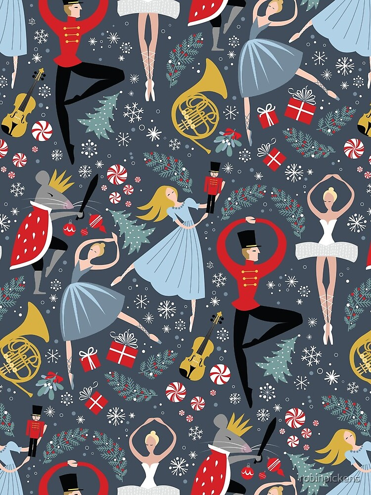 Clara's Nutcracker Ballet repeat by Robin Pickens by robinpickens